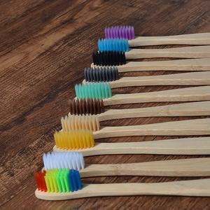 10 pcs bamboo toothbrush 5fcafdaa4215d - 10 PCS Bamboo Toothbrush