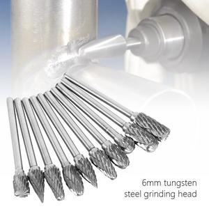 10pcs double slot rotary grinder burr bits 5fd58c97e0710 - 10pcs Double Slot Rotary Grinder Burr Bits