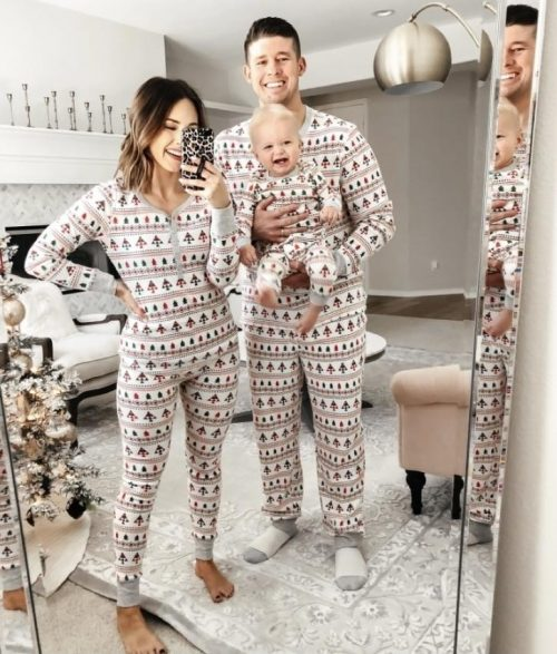 christmas family pajamas 2pcs set 5fcaf91a8f5c2 500x587 - Christmas Family Pajamas (2pcs Set)